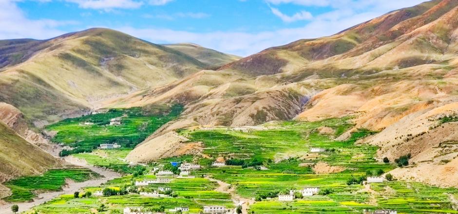 【行摄西藏】之高原梯田