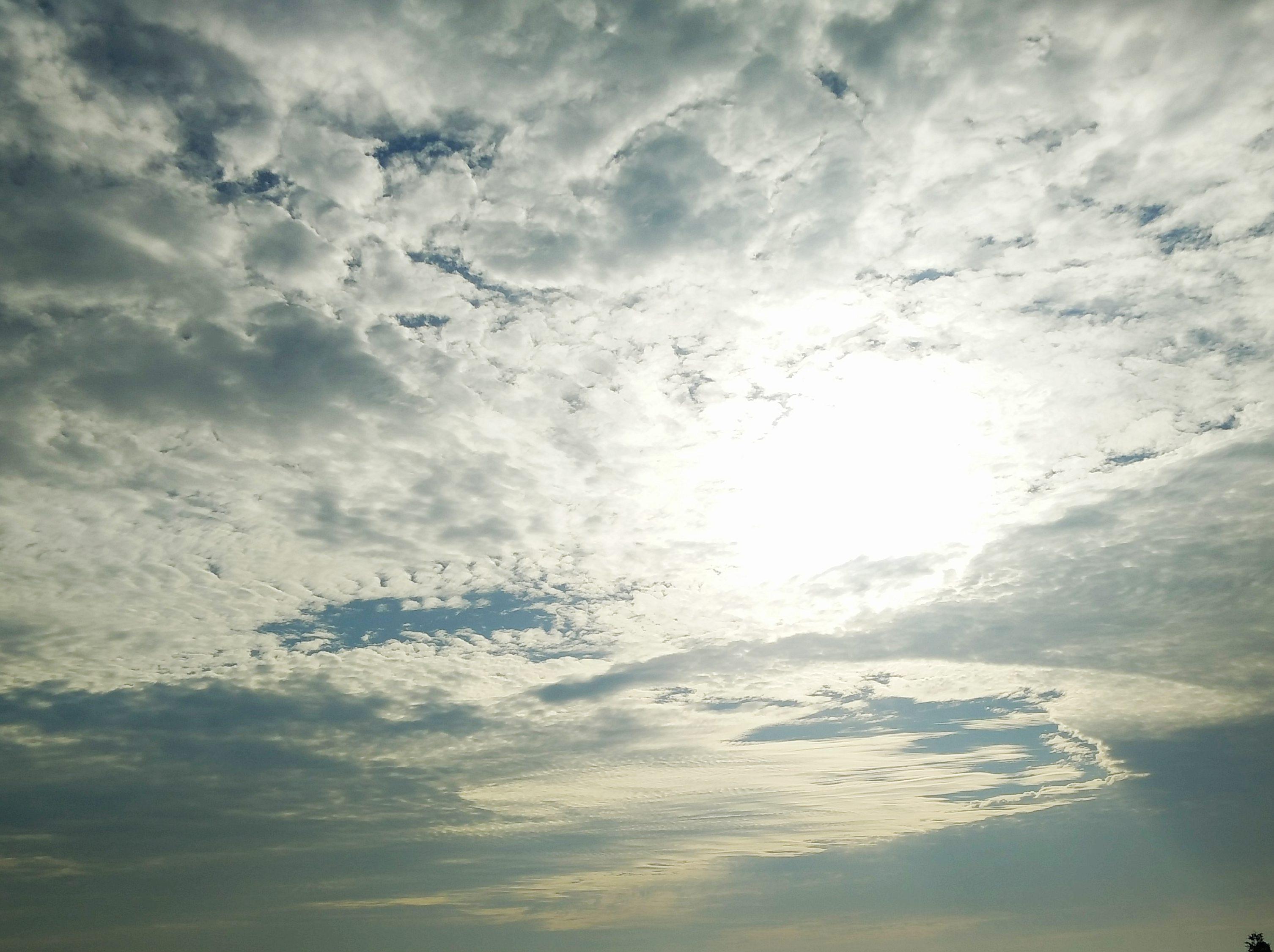 仰望天空,感受自然的美