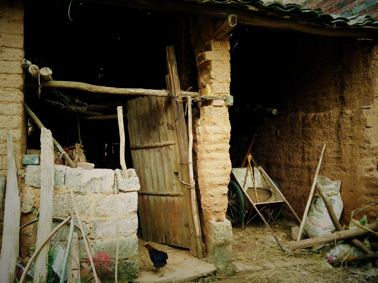 农村的老房子,历史的足迹