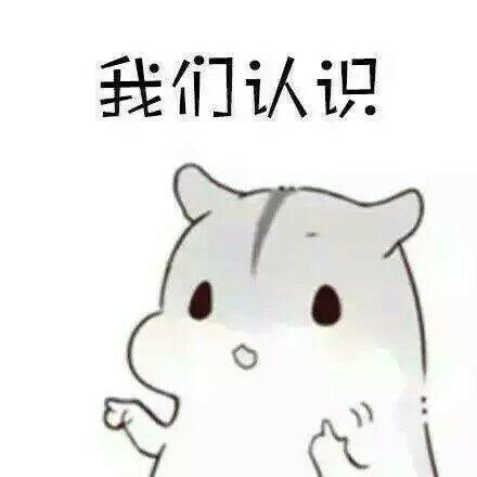 萌萌小仓鼠表情包