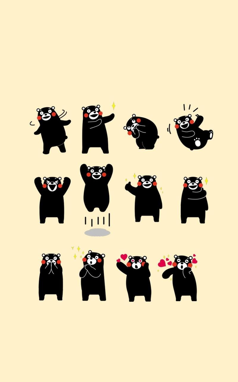 呆萌可爱熊本熊壁纸 - 玩机专区 - 一加手机社区官方