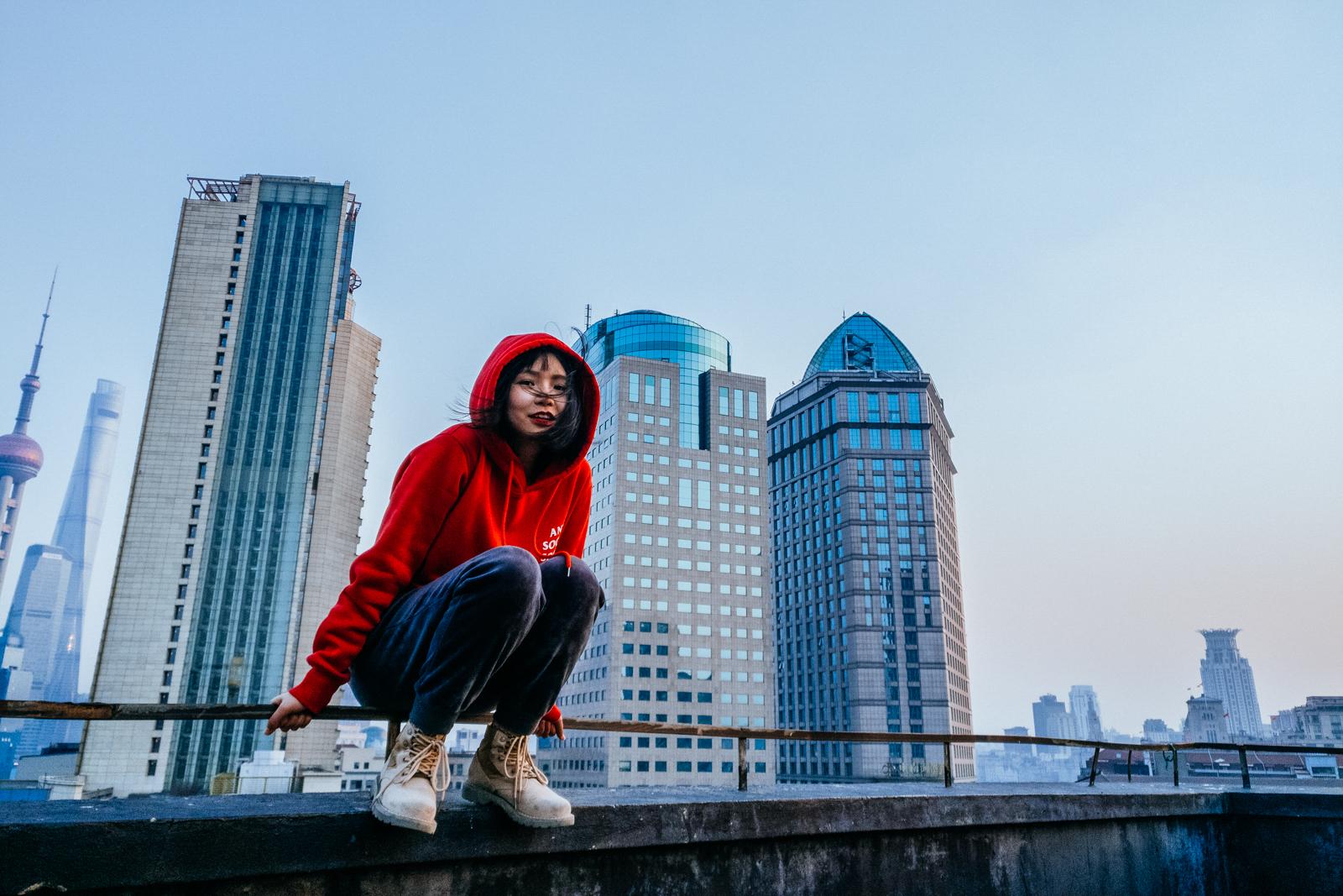 杭州之俊大厦模特