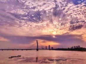 《西太湖夕阳》