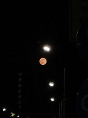 古老的5T拍摄的月亮