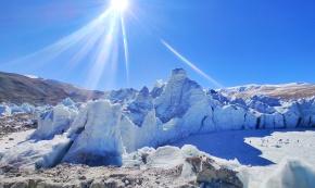 【行摄西藏】邂逅梦幻蓝冰40冰川