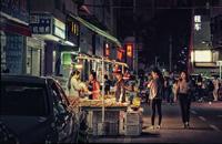 夜晚,深圳