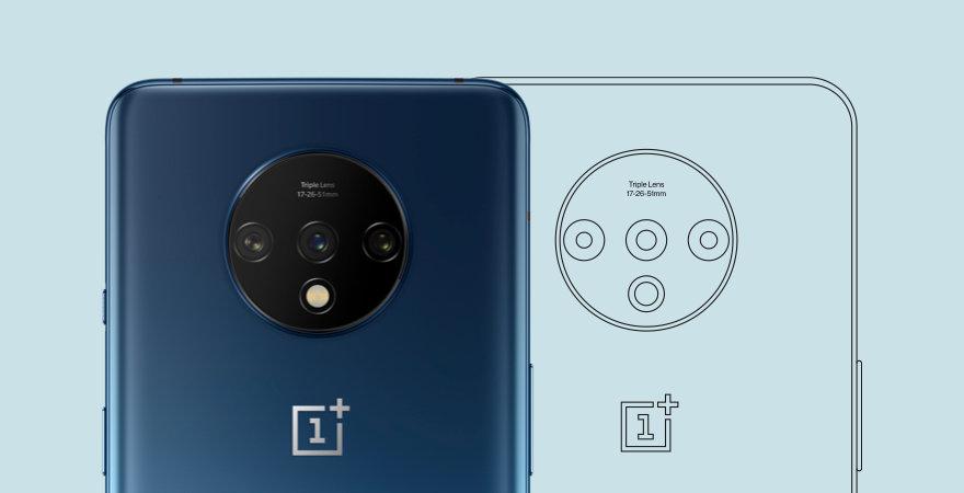 OnePlus 7T 摄像头设计