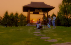 【秋日夕陽】 夕陽眾生