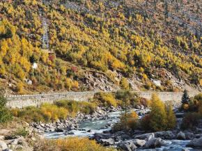 【秋日夕陽】初秋的新都橋和雅江秋色
