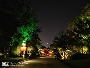 夜晚来临的时候,一幅画呈现在镜头