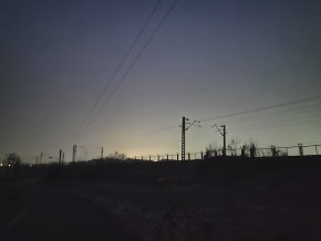 一加六夜景