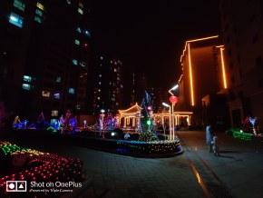 春節社區夜景
