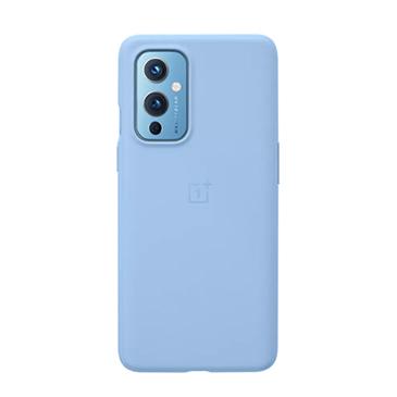 一加手机9 砂岩全包保护壳蓝紫