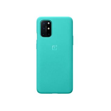 一加手机8T 砂岩全包保护壳(湖青)