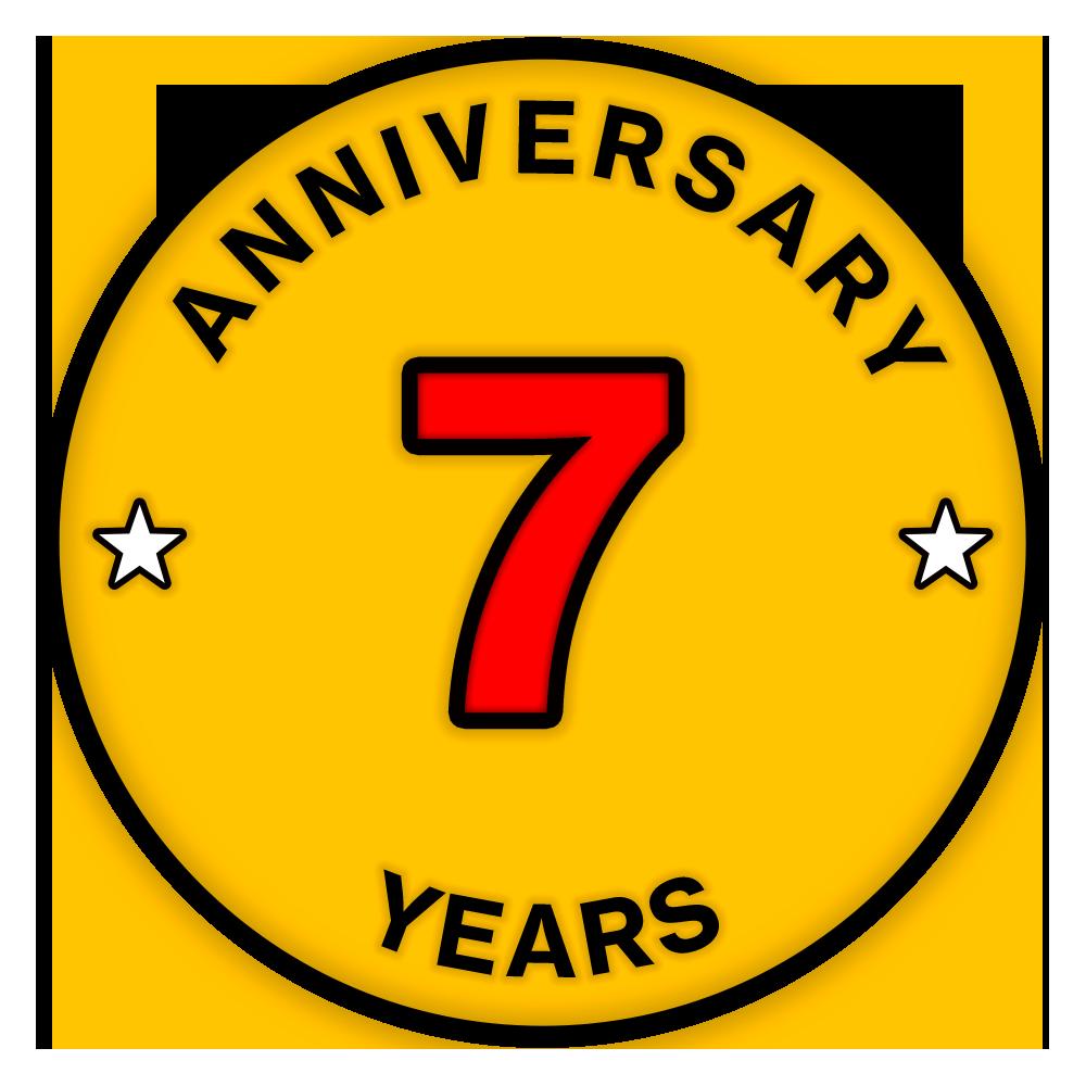 一加7周年纪念勋章