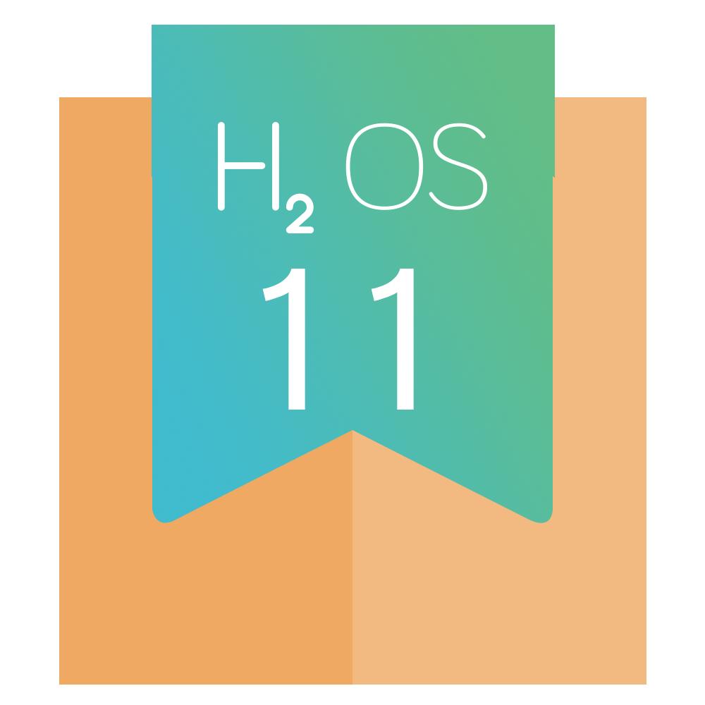 H2OS 11 纪念勋章