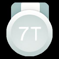 一加 7T 系列开版纪念章