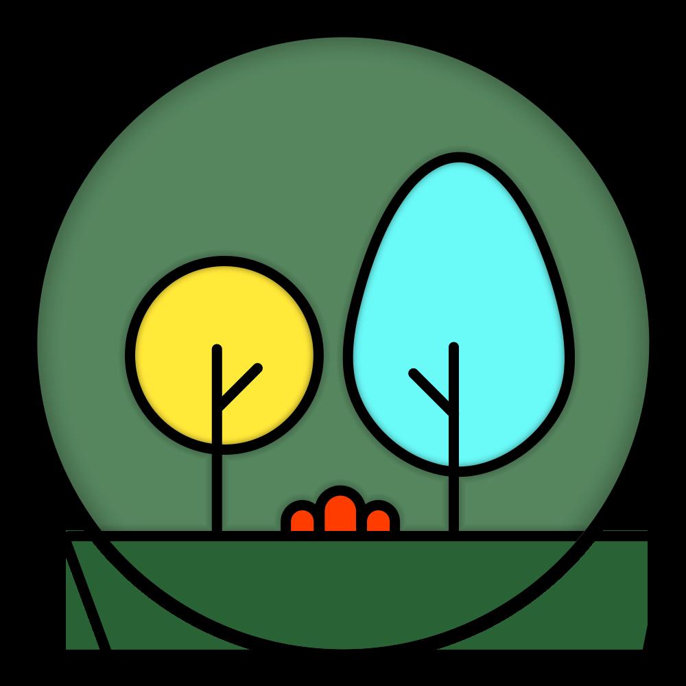 植树节 勋章