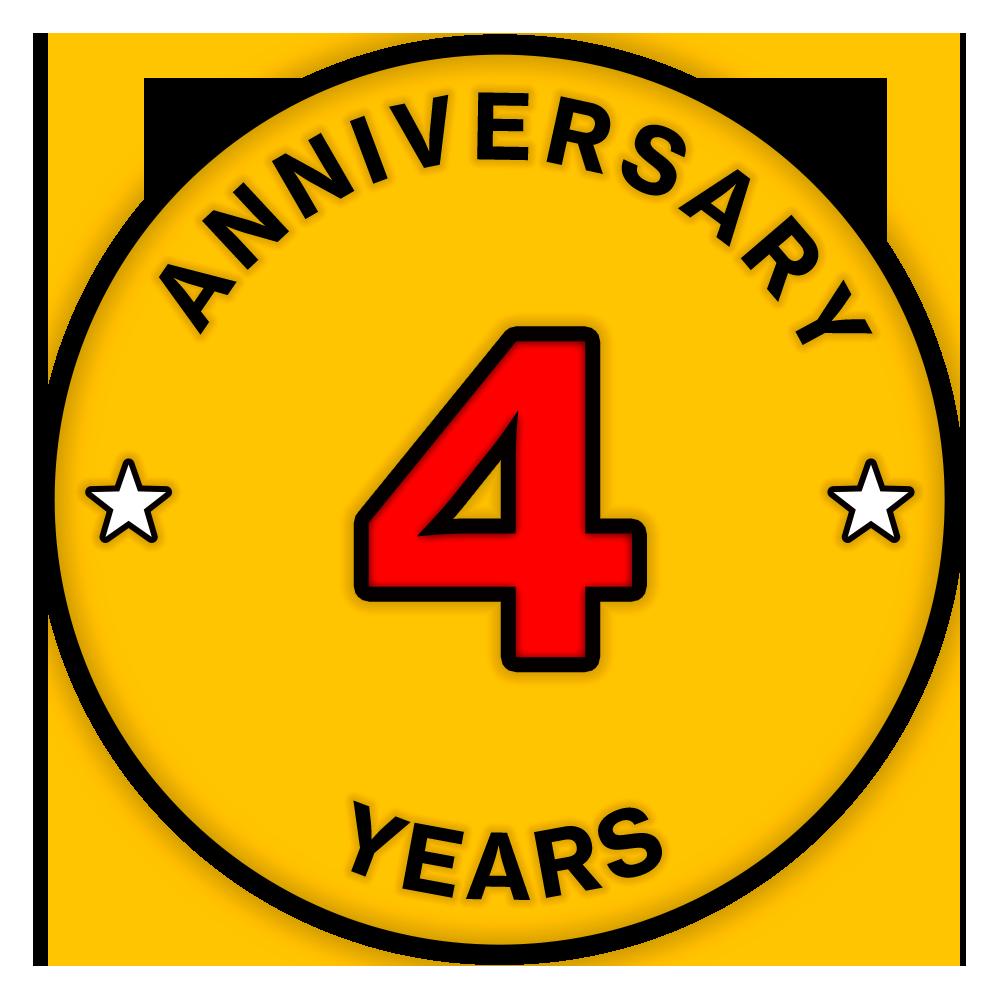 一加四周年纪念勋章