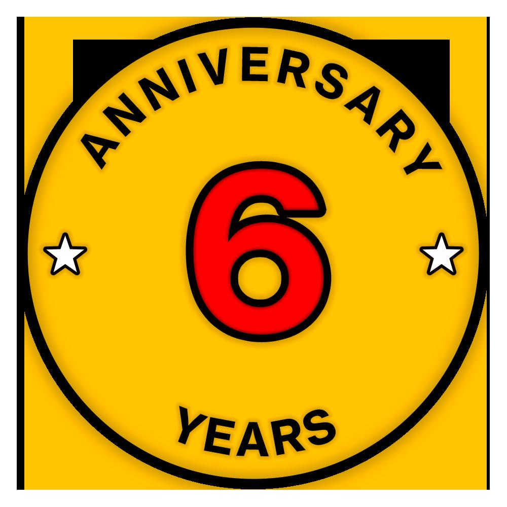 一加六周年紀念勛章