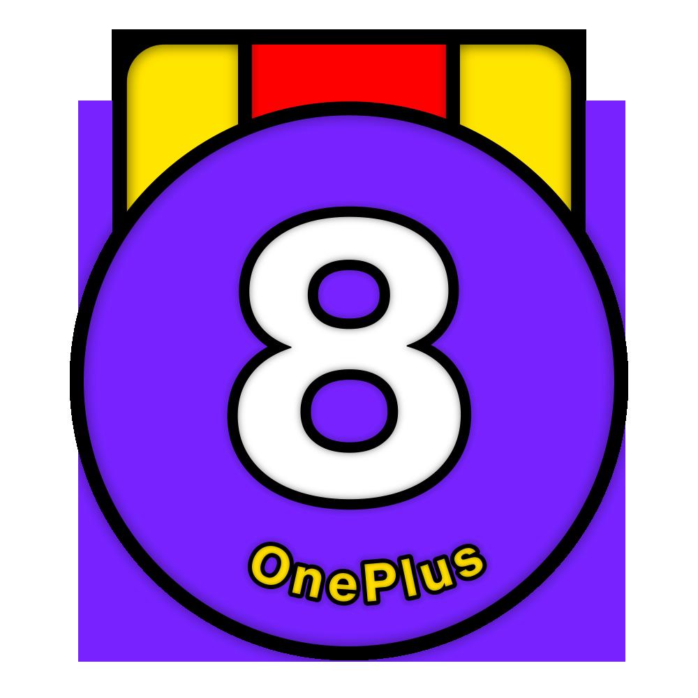 OnePlus 8 系列開版紀念章